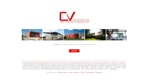 cv architecture website